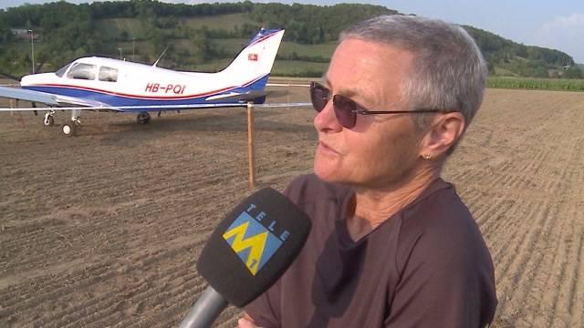 Pilotin verhindert Katastrophe