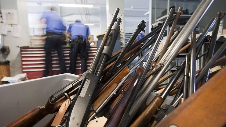 Ein Waffenabgabe-Tag soll bei Gelegenheit wiederholt werden.