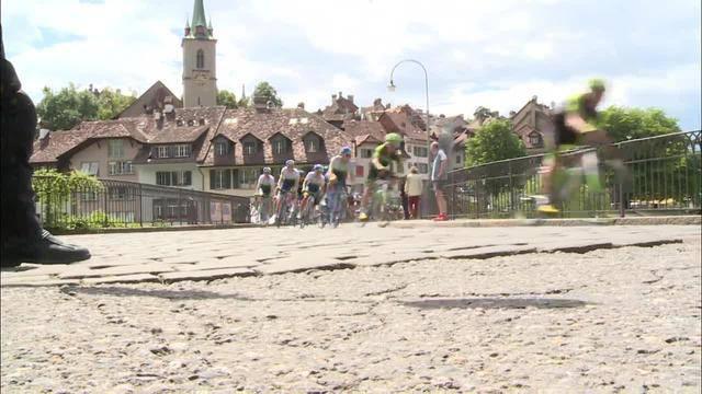 Cancellara-Fans reisen mit dem Velo an