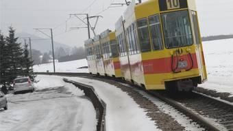 Mit dem Einspurbetrieb zwischen Ettingen und Flüh ist ab 2014 Schluss. (Archiv)