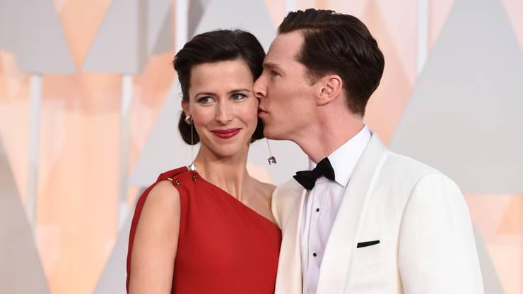 Angeblich ist das zweite Kind von Sophie Hunter und Benedict Cumberbatch Anfang März geboren. Der Junge soll Hal Auden heissen. (Archivbild)