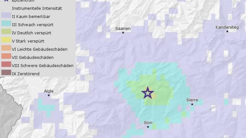Aussergewöhnliche Häufung von Erdbeben