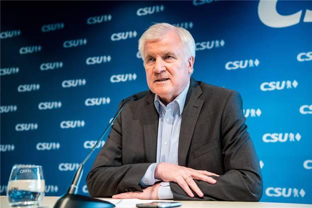 Zieht die Schraube an: Innenminister Horst Seehofer.