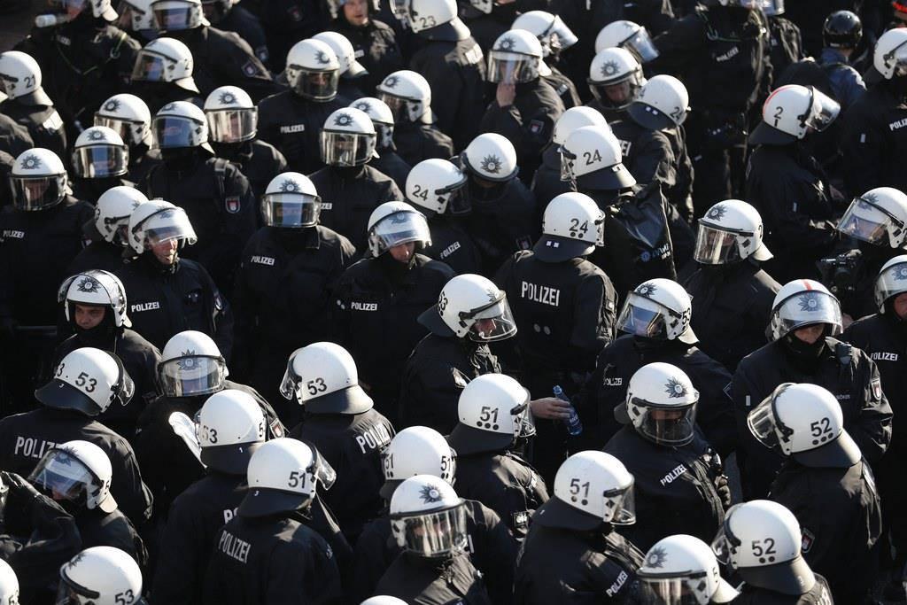 Protest G20 Hamburg (© Keystone)