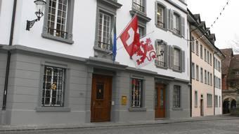 Das Rathaus von Bremgarten, in dem sich auch das Bezirksgericht befindet.