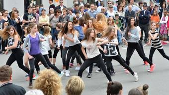Eine Tanzvorführung des Dancerstudios Olten.