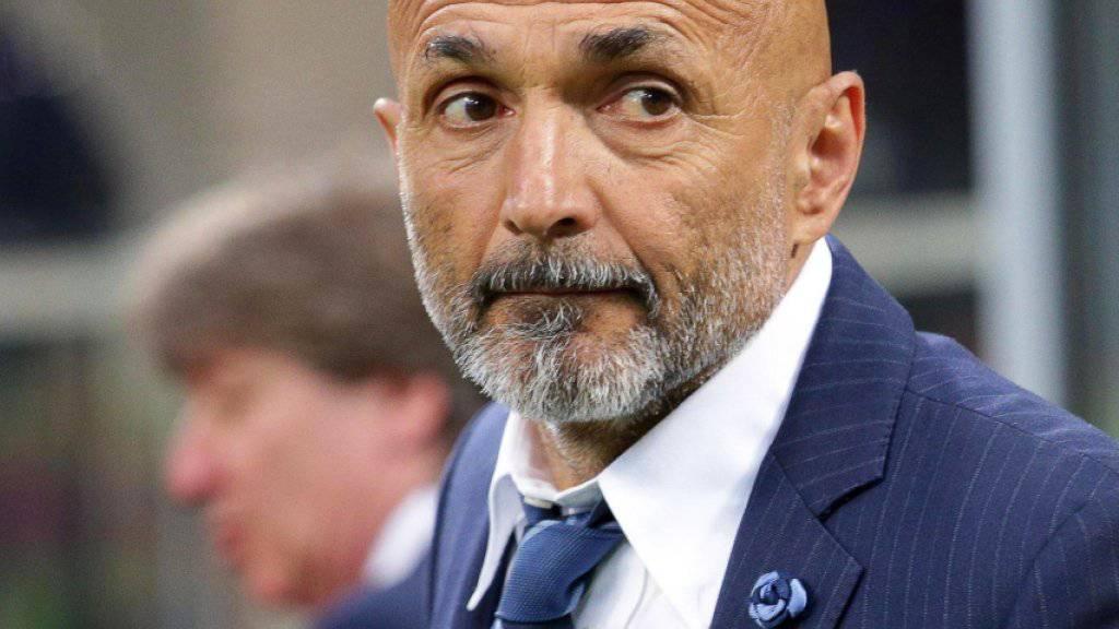 Luciano Spalletti ist nicht mehr Trainer von Inter Mailand