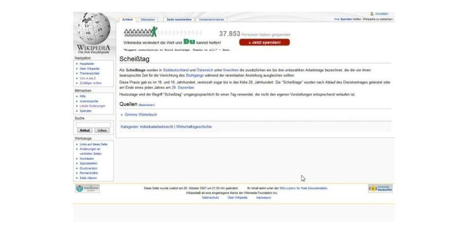 © Wikipedia Screenshot