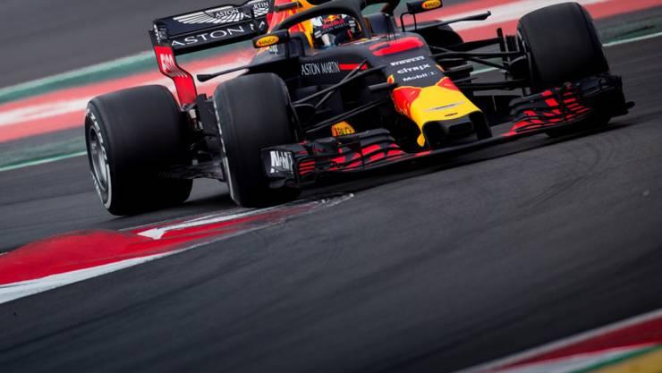 Schnell unterwegs: Der Australier Daniel Ricciardo im Red Bull-Renault