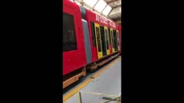 Das neue FC Basel Tram