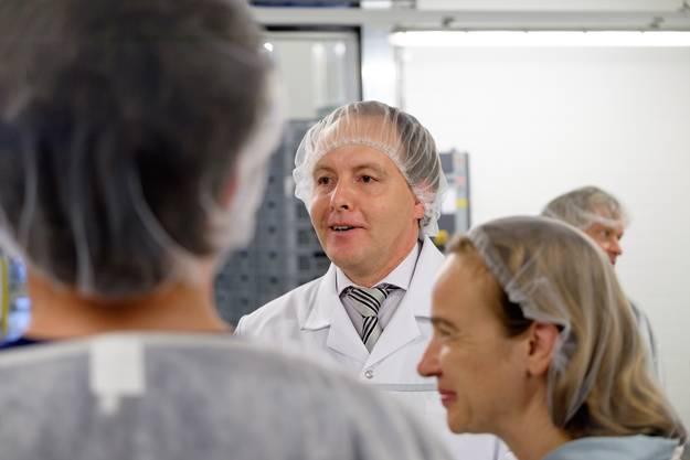 Daniel Hintermann, Chef Logistik Coop Nordwestschweiz