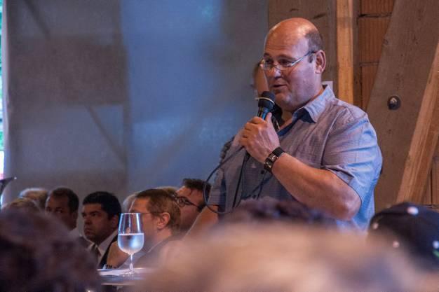 Robert Kaiser bei der Eröffnungsansprache