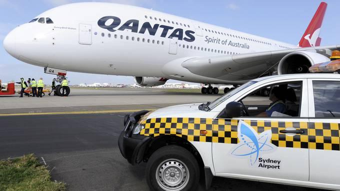 Die Airline Qantas will eine generelle Impfpflicht für Passagiere einführen.