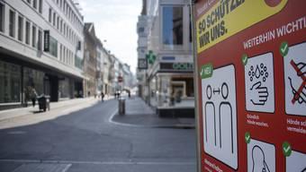 Die Basler Regierung will Geschäfte, die keine Mietzinsreduktion erhalten und wegen der Coronakrise in Schwierigkeiten sind, finanziell unterstützen.