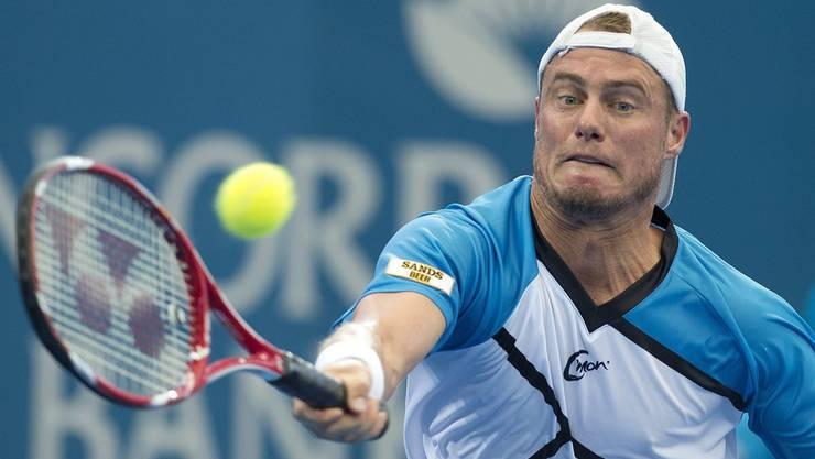 Lleyton Hewitt spart seine Kräfte fürs Australian Open.