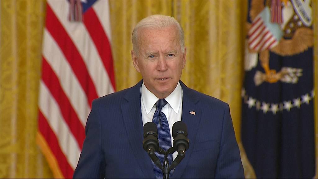 «Wir werden euch jagen und euch bezahlen lassen»: Das sagt Joe Biden zu den Anschlägen in Kabul