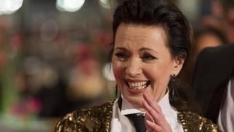 """Auch wenn sie nicht wie eine Grossmutter aussieht: Schauspielerin Iris Berben ist laut ihrem Sohn Oliver eine """"coole Oma"""". (Archiv)"""