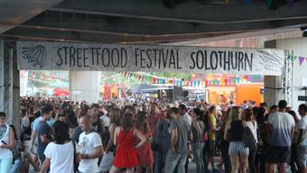 1. Street Food Festival in Solothurn
