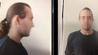 Während sein Verfahren hängig ist, haut er ab: Der verurteilte Mörder Kris V. im Fahndungsfoto. Seine Jugendstrafe hat er bereits abgesessen, zuletzt war er «fürsorgerisch untergebracht».