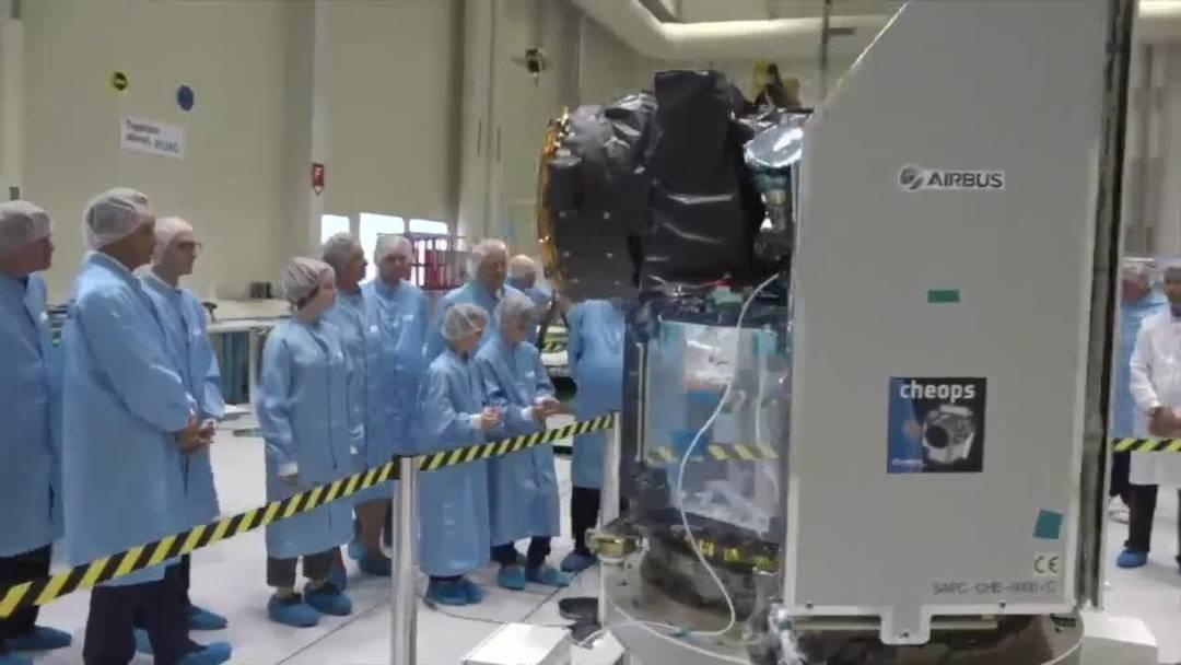 Schweizer Weltraumteleskop Cheops startet Mitte Dezember ins All