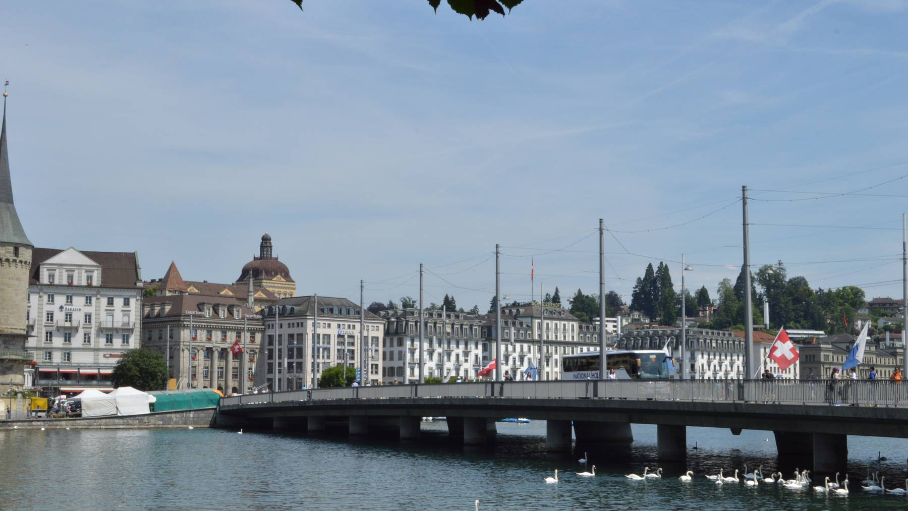 Neue Idee gegen den Stau in Luzern