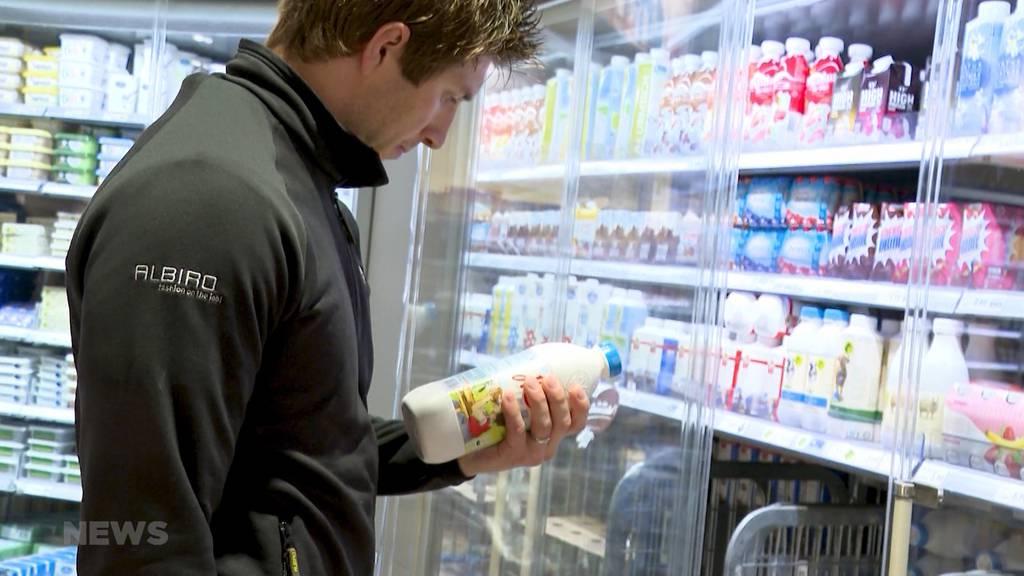 Berner Sportler helfen beim Einkauf
