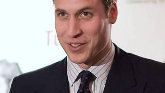 Prinz William besteht einen Trainigskurs bei der Luftwaffe (Archiv)