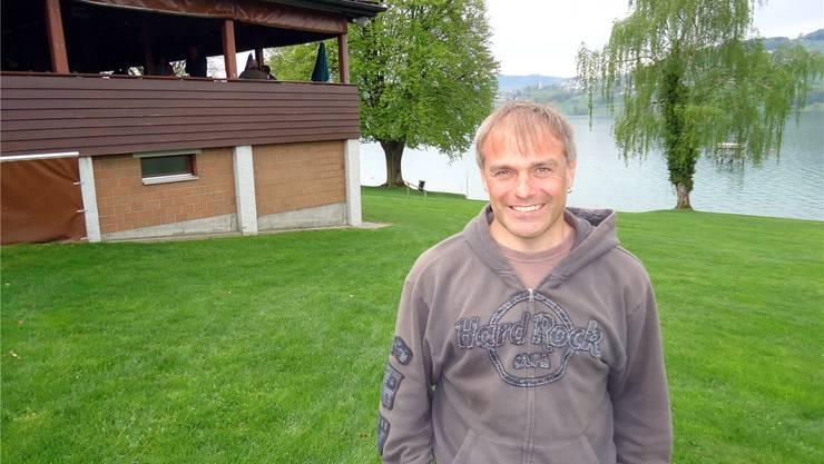 Rainer Suter ist ab dieser Saison der neue Pächter der Seerose-Badi.