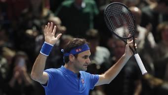 Federer gewinnt gegen Thiem