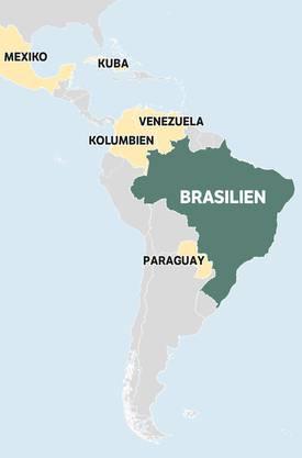 In sechs lateinamerikanischen Staaten finden 2018 Präsidentschaftswahlen statt:Mexiko, Brasilien, Paraguay, Kolumbien, Venezuela und Kuba. 640 Millionen Latinos sind zur Wahl aufgerufen. Die «Nordwestschweiz» und die «Schweiz am Wochenende» berichten in einer losen Serie über Entwicklungen und Hintergründe.