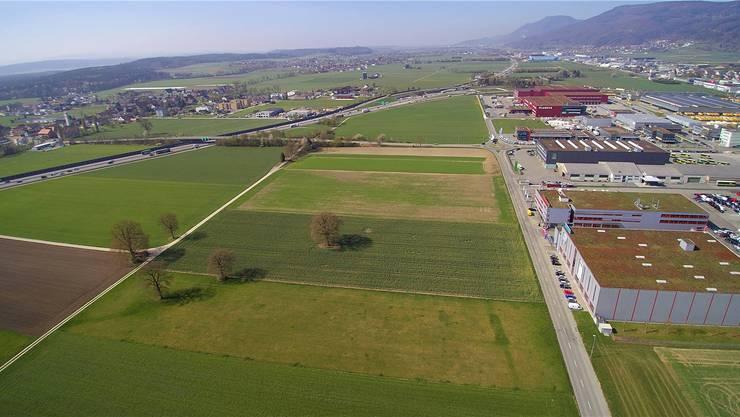 Das Industriegebiet von Härkingen soll kontrolliert und moderat wachsen.
