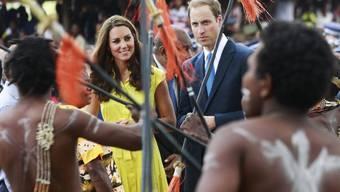 Kate und William im Südpazifik