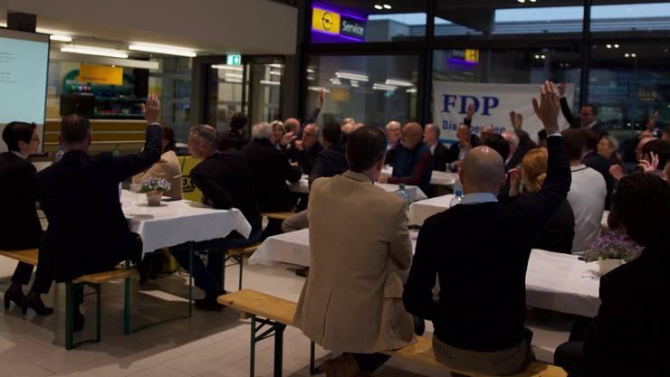 Knapp 50 Mitglieder wohnten der GV im Kappelerhof bei.