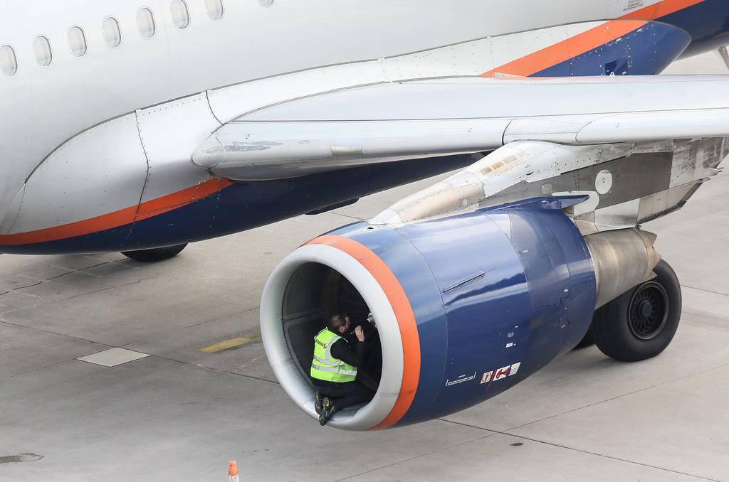 Notlandung Aeroflot-Airbus