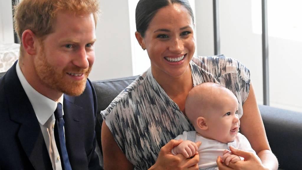Queen gratuliert Harry und Meghans Sohn Archie