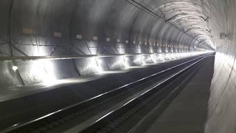 Noch sind rund 5000 Testfahrten geplant, bis der fahrplanmässige Betrieb durch den Gotthard-Basistunnel am 11. Dezember aufgenommen wird.
