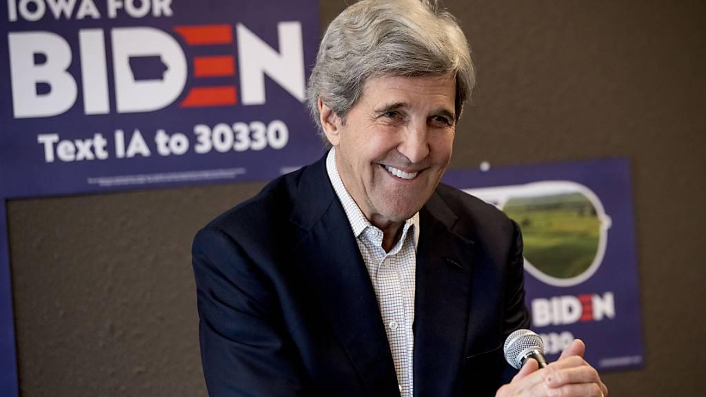 Kerry fordert von China mehr Anstrengungen beim Klimaschutz