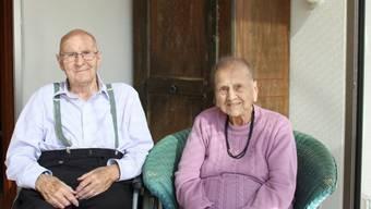 65 Jahre sind Martha und Walter Jordi-Gerber verheiratet. zvg