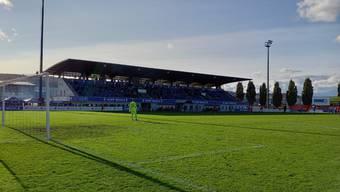 Der FC Wohlen im Spiel in der Niedermatten gegen Zug 94.