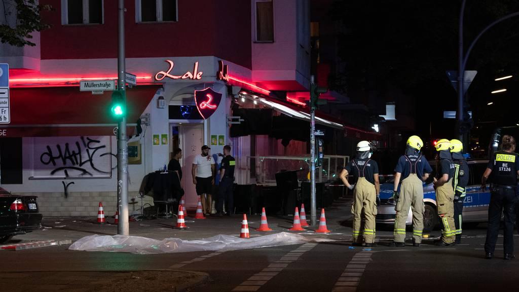 Schiesserei in Berlin – drei Männer schwer verletzt