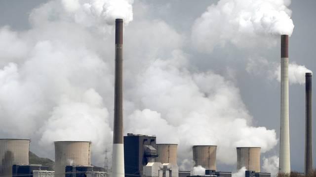Ein Kohlenkraftwerk in Deutschland (Symbolbild)
