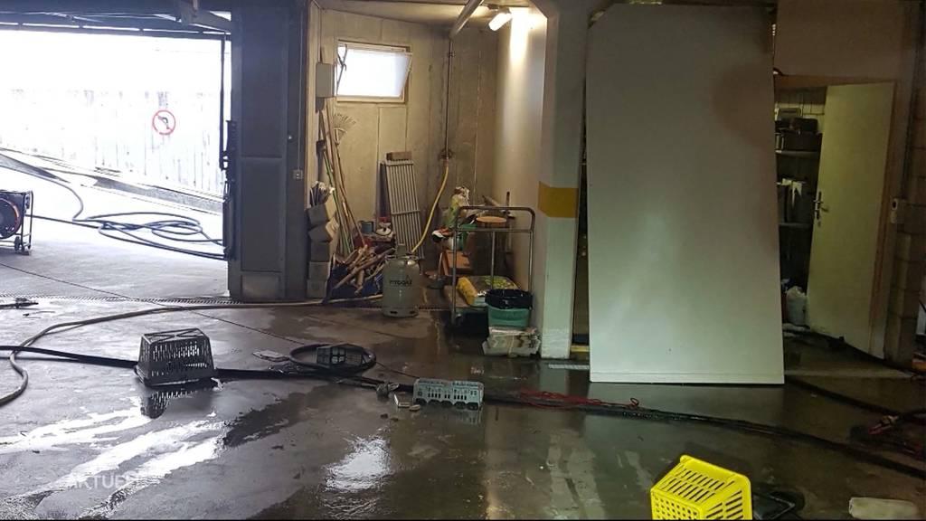 Schwerverletzter nach Gas-Explosion in Oberlunkhofen