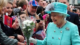 Die Queen erhielt zum 60. Thronjubiläum zahlreiche Geschenke (Archiv)