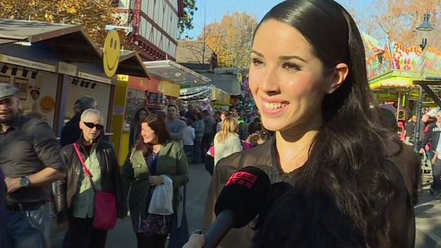 Erster Amtstag der neuen Miss Schweiz