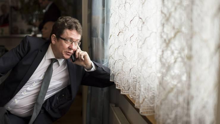 Tritt noch diesen Frühling in Toni Brunners Fusstapfen: SVP-Nationalrat Albert Rösti.