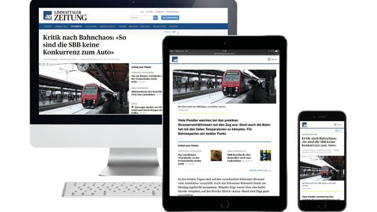 Das neue Design Ihrer Newsseite