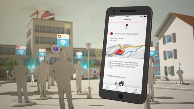 Bund bringt neue Alarm-App