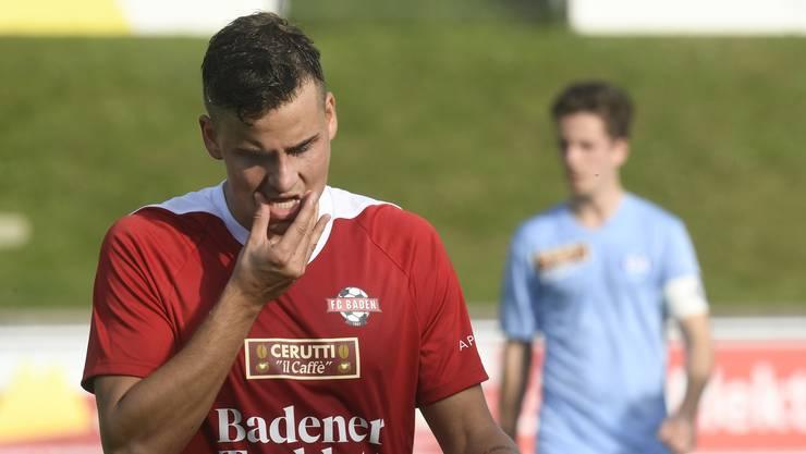 Michael Schär und der FC Baden bleiben in der letzten Partie der Vorrunde ohne Punkte.