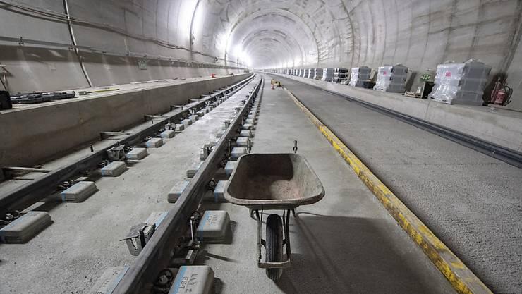 Der Eppenbergtunnel geht bald in Betrieb. (Archivbild)