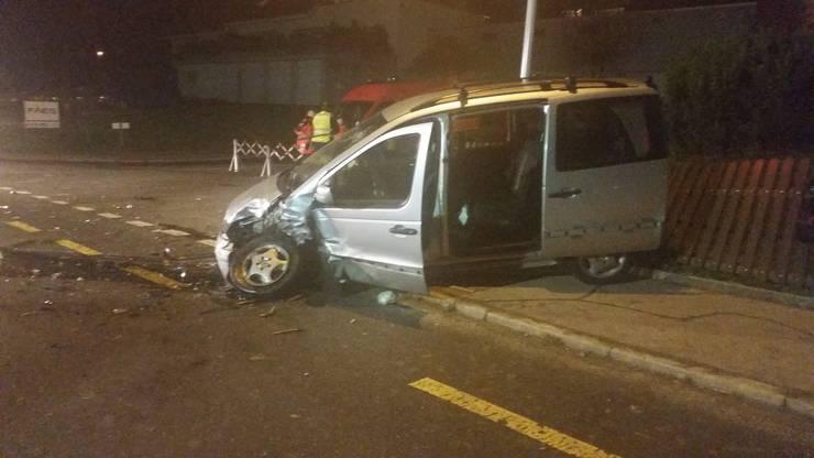 In diesem Auto sassen ein 40-jähriger Vater und sein achtjähriger Sohn.